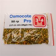 Удобрение длительного действия Osmocote Pro (17-11-10+2MGO+TE), 50 гр