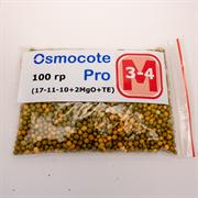 Удобрение длительного действия Osmocote Pro (17-11-10+2MGO+TE), 100 гр