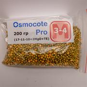 Удобрение длительного действия Osmocote Pro (17-11-10+2MGO+TE), 200 гр